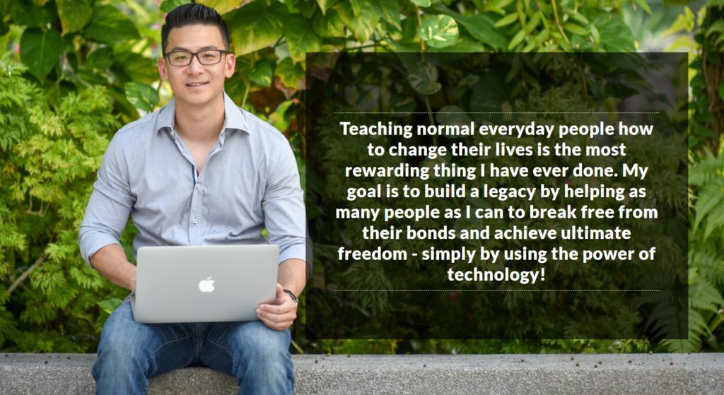 Aaron Chen Invincible Marketer