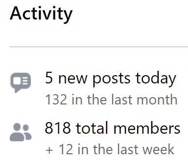 Invincible Marketer facebook group activity