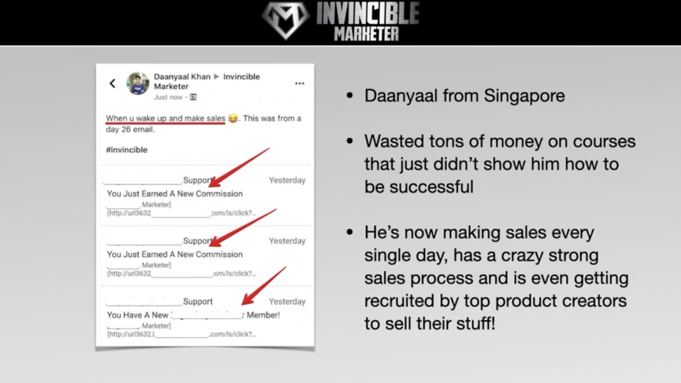 Is Invincible marketer a scam or legit review