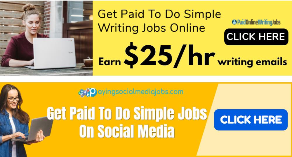Paid Online Writing Jobs vs Paying Social Media Jobs