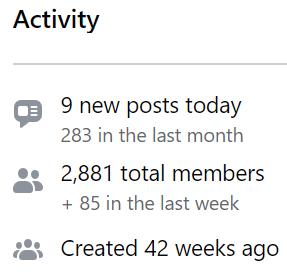 printable profits facebook group activity