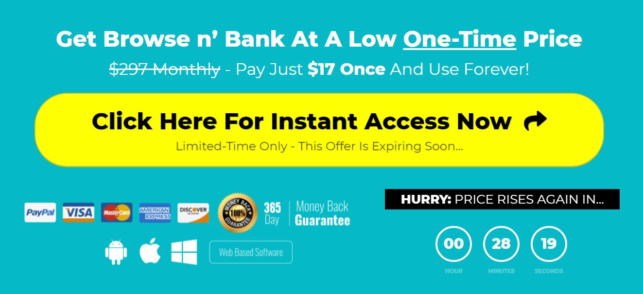 browse n bank pricing